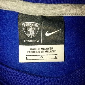 Nike Shirts - Nike NFL New York Giants Men's Large Sweatshirt